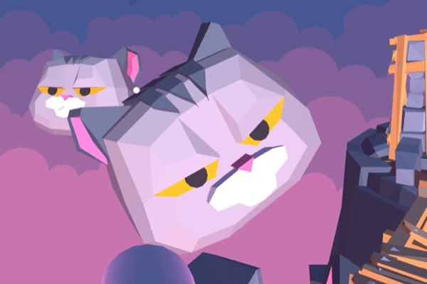 online VR game with evil grumpy space cats